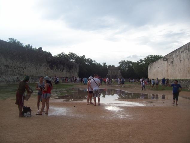 Chichen-Itza ball court